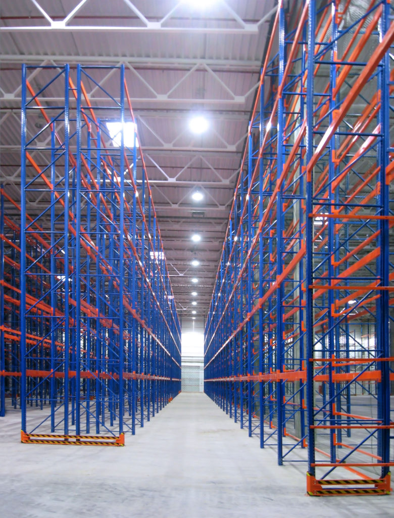 typical example of pallet racking