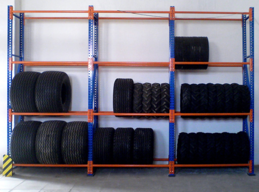 tyre racking diagram