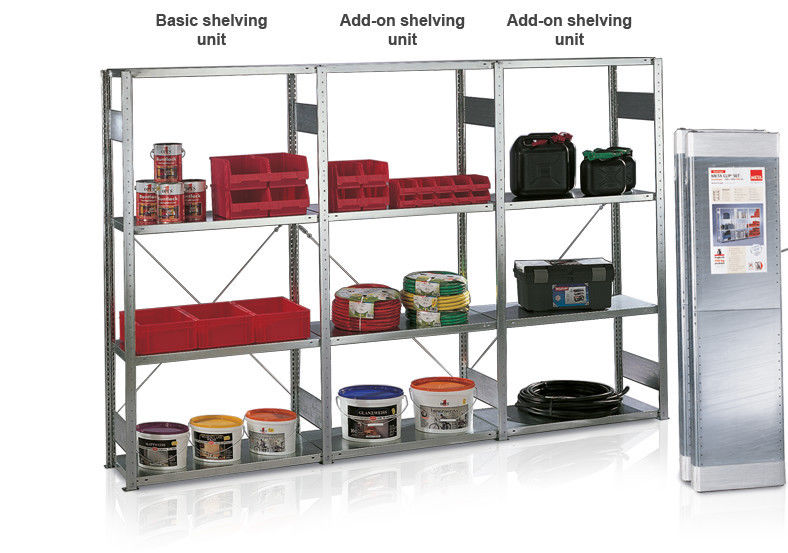 wide span shelving package A