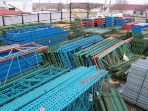 typical example of used racking